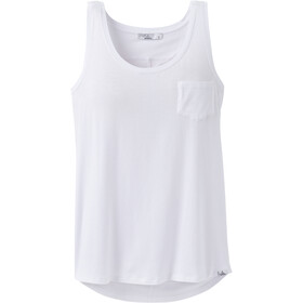 Prana Foundation U-Ausschnitt Tank Top Damen white